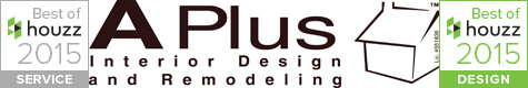APlus Best of Houzz 2015 in Service & Design