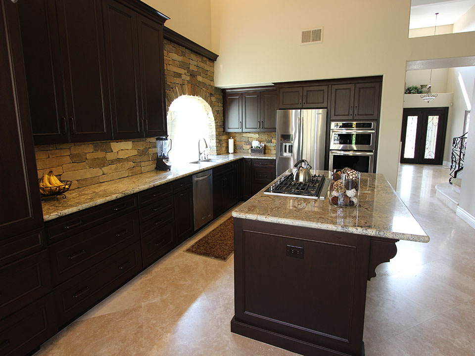 After remodel Yorba Linda kitchen