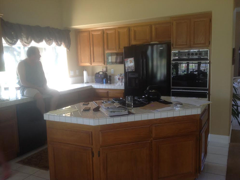 Before remodel Yorba Linda kitchen