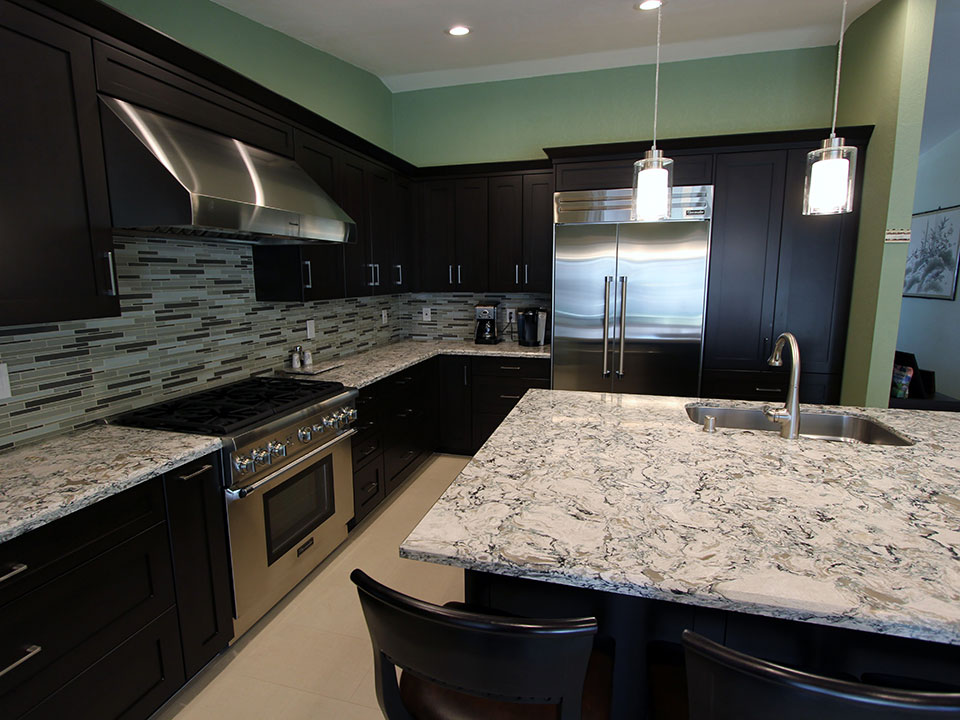 Rowland Heights Kitchen remodel with custom cabinets