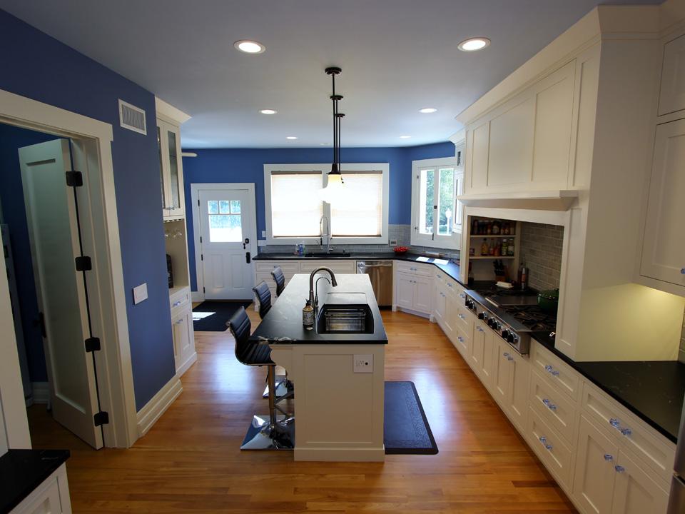 Kitchen remodel custom kitchen cabinets