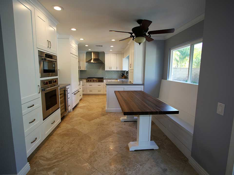 A Transitional Kitchen And Family Room Remodel In Lake Forest, Orange County