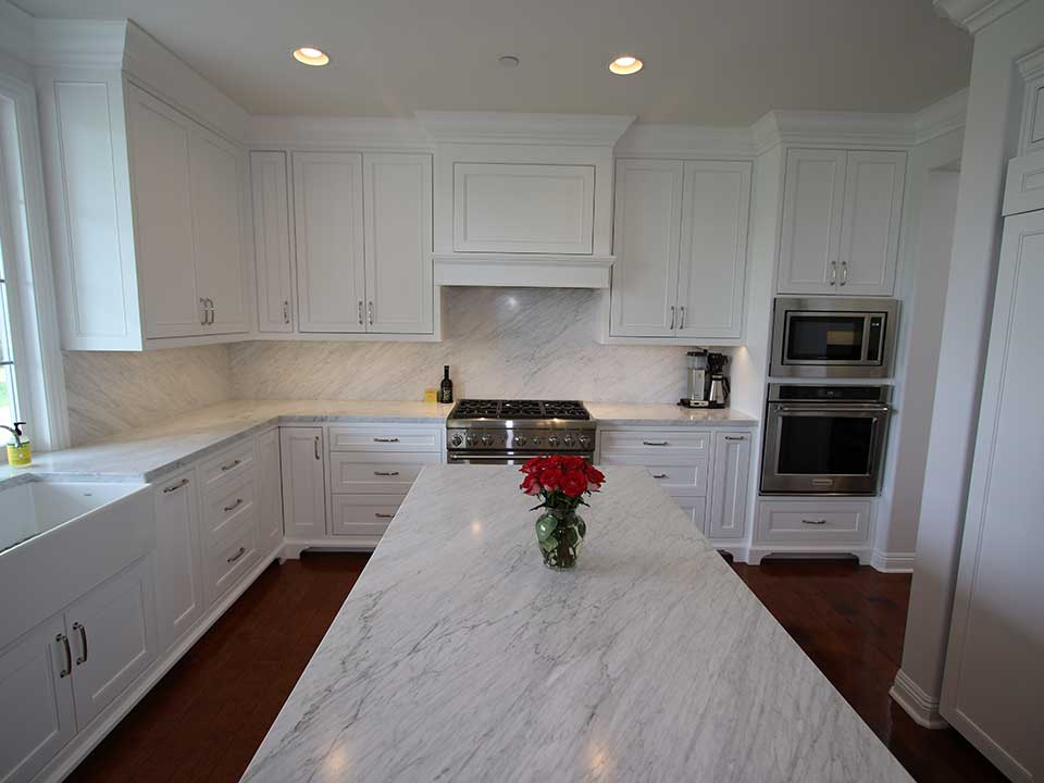 Transitional White Kitchen Cabinets a transitional white kitchen with custom cabinets in san clemente
