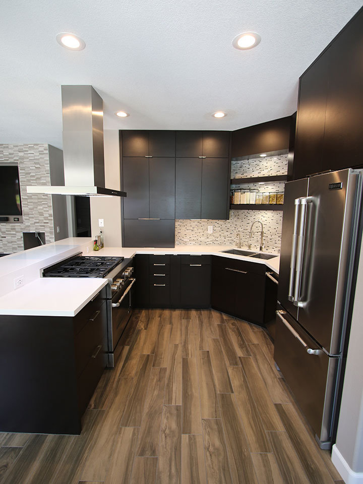 Chino Hills A Modern Kitchen Remodel with Sophia Line Cabinets