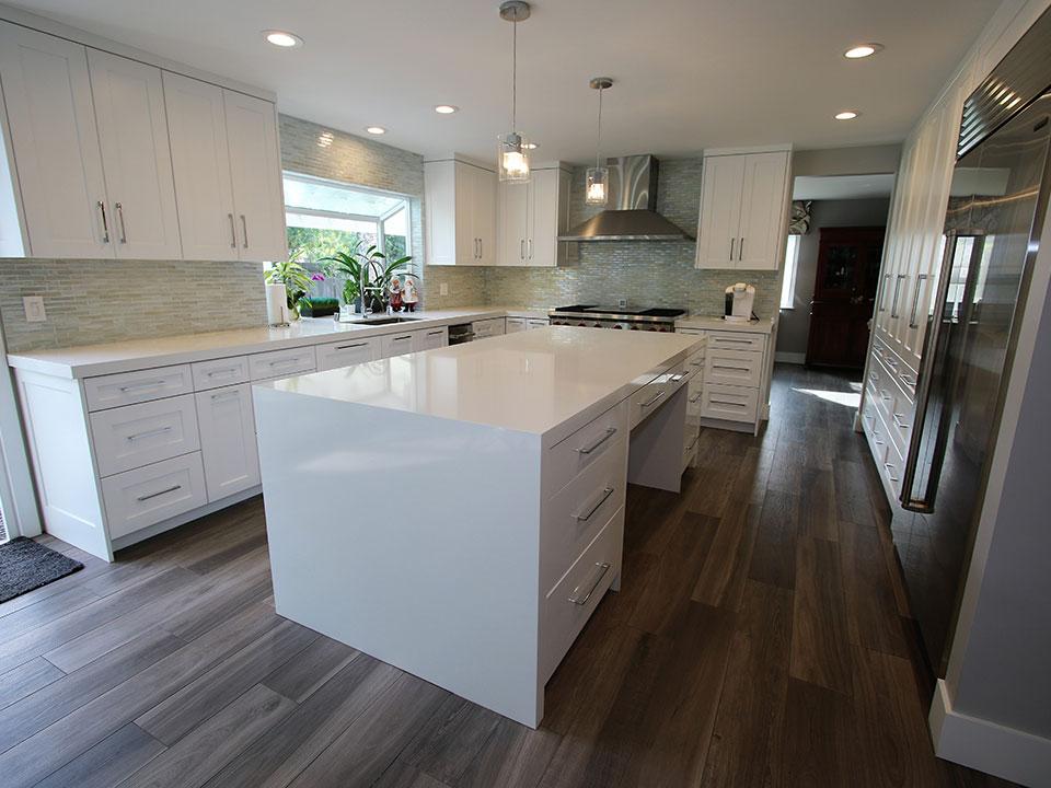A Modern Kitchen Home Master Bedroom, Bathroom Remodel in Villa Park